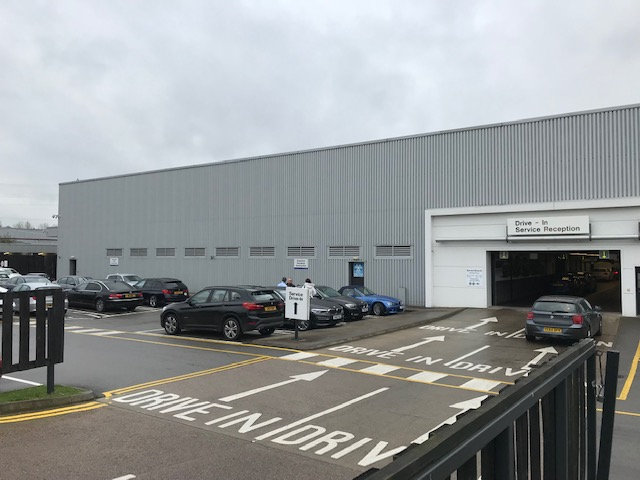 Rent review on industrial unit in Leicester