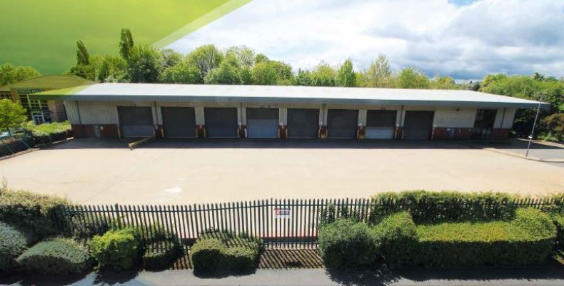 WAREHOUSE LETTING AT CINDERHILL POINT
