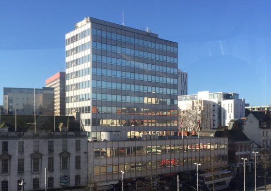 Latest office letting in city centre tower